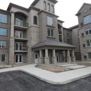 Brand New Two Bedroom Ground Floor Condo – Milton